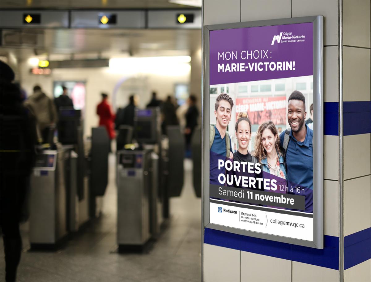 Affichage metro